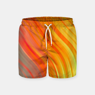 Thumbnail image of stripes wave pattern 1 tgvi Swim Shorts, Live Heroes