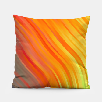 Thumbnail image of stripes wave pattern 1 tgvi Pillow, Live Heroes