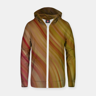 stripes wave pattern 1 w81pi Zip up hoodie miniature