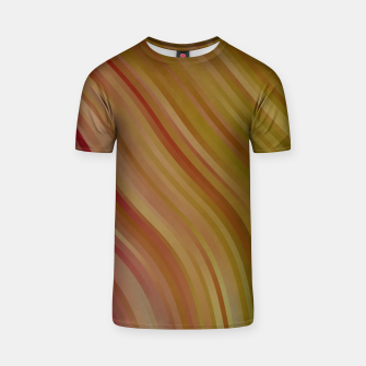 stripes wave pattern 1 w81pi T-shirt miniature