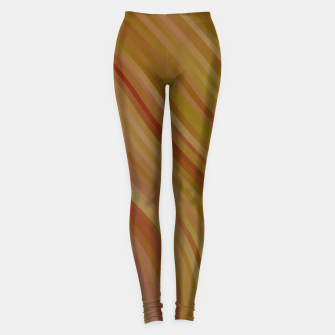 stripes wave pattern 1 w81pi Leggings miniature