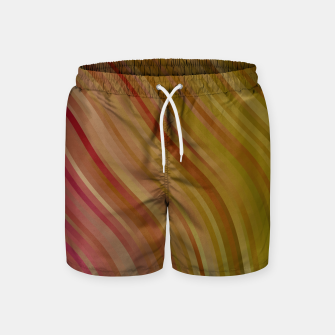 Thumbnail image of stripes wave pattern 1 w81pi Swim Shorts, Live Heroes