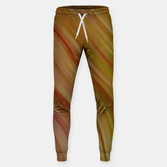 stripes wave pattern 1 w81pi Sweatpants miniature
