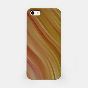stripes wave pattern 1 w81pi iPhone Case miniature