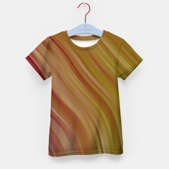 stripes wave pattern 1 w81pi Kid's t-shirt miniature