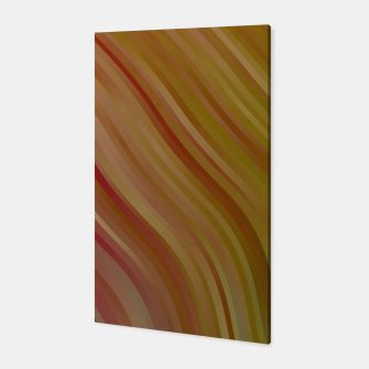 stripes wave pattern 1 w81pi Canvas miniature