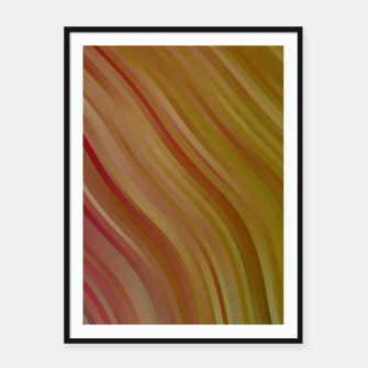 stripes wave pattern 1 w81pi Framed poster miniature