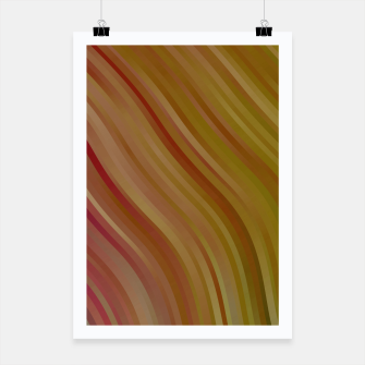 stripes wave pattern 1 w81pi Poster miniature