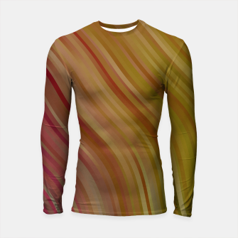 stripes wave pattern 1 w81pi Longsleeve rashguard  miniature