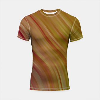 stripes wave pattern 1 w81pi Shortsleeve rashguard miniature