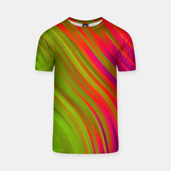 stripes wave pattern 1 w81v T-shirt miniature