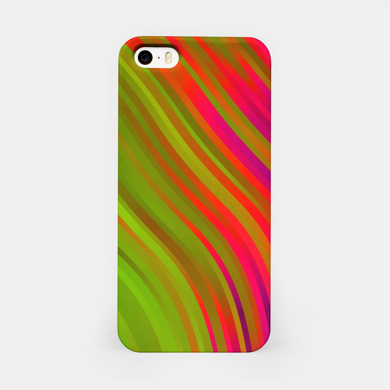 Image de stripes wave pattern 1 w81v iPhone Case - Live Heroes