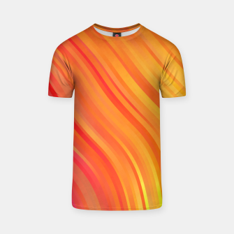 stripes wave pattern 1 w81vi T-shirt miniature