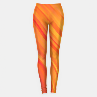 stripes wave pattern 1 w81vi Leggings miniature