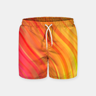 Thumbnail image of stripes wave pattern 1 w81vi Swim Shorts, Live Heroes