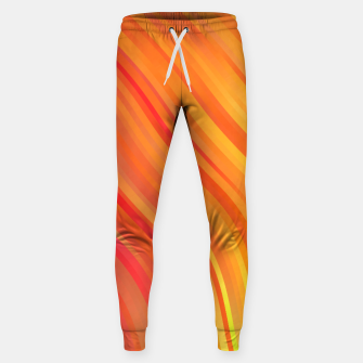 stripes wave pattern 1 w81vi Sweatpants miniature