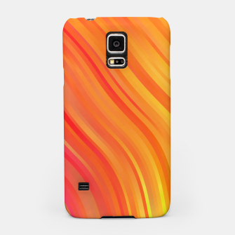 stripes wave pattern 1 w81vi Samsung Case miniature
