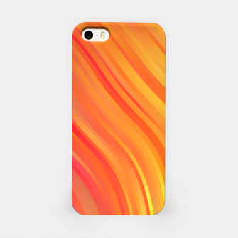 stripes wave pattern 1 w81vi iPhone Case miniature