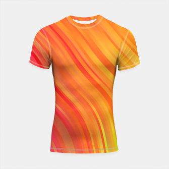 stripes wave pattern 1 w81vi Shortsleeve rashguard miniature