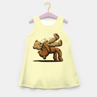 Miniature de image de Bear Hug Girl's summer dress, Live Heroes