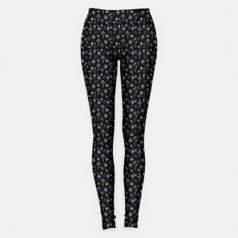 Thumbnail image of Enchanted Garden-Holographic Leggings, Live Heroes