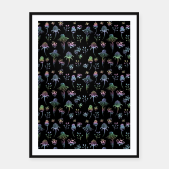 Thumbnail image of Enchanted Garden-Holographic Framed poster, Live Heroes