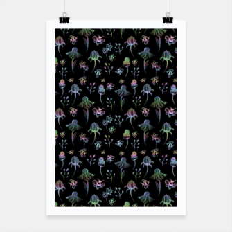 Thumbnail image of Enchanted Garden-Holographic Poster, Live Heroes