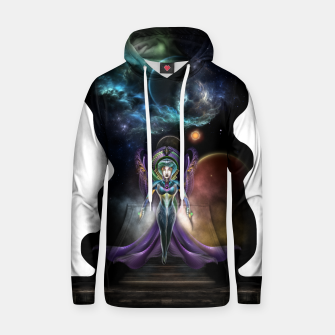 Thumbnail image of The Elegance Of Trilia Fractal Portrait ISO Hoodie, Live Heroes