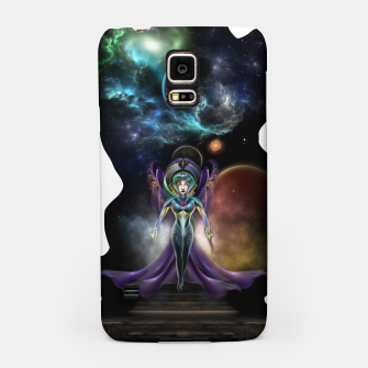 Thumbnail image of The Elegance Of Trilia Fractal Portrait ISO Samsung Case, Live Heroes