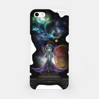 Miniaturka The Elegance Of Trilia Fractal Portrait ISO iPhone Case, Live Heroes