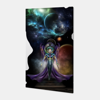 Thumbnail image of The Elegance Of Trilia Fractal Portrait ISO Canvas, Live Heroes