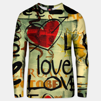 Thumbnail image of Love Bluza unisex, Live Heroes