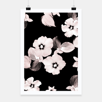 Miniature de image de Rose Blush Floral Dream #1 #flower #pattern #decor #art  Plakat, Live Heroes