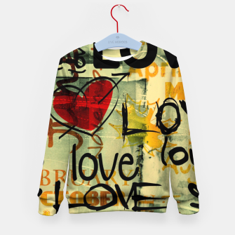 Thumbnail image of Love Bluza dziecięca, Live Heroes