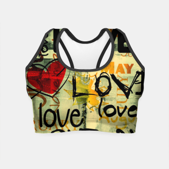 Miniature de image de Love Crop Top, Live Heroes