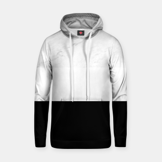 Thumbnail image of Stripes marble black white Hoodie, Live Heroes