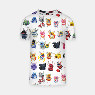 Thumbnail image of Pop Bees Tshirt, Live Heroes