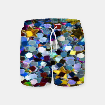 Thumbnail image of Glitter Swim Shorts, Live Heroes