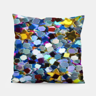 Thumbnail image of Glitter Pillow, Live Heroes
