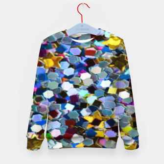 Thumbnail image of Glitter Kid's sweater, Live Heroes