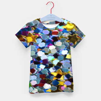 Thumbnail image of Glitter Kid's t-shirt, Live Heroes