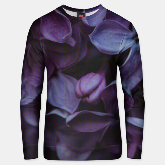 Thumbnail image of Lavender Floral Unisex sweater, Live Heroes