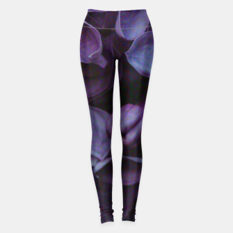 Thumbnail image of Lavender Floral Leggings, Live Heroes