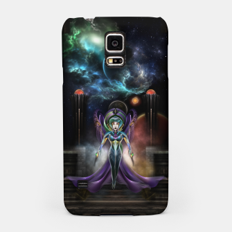 Thumbnail image of The Elegance Of Trilia Fractal Portrait Samsung Case, Live Heroes