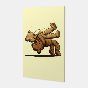 Thumbnail image of Bear Hug Canvas, Live Heroes