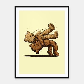 Bear Hug Framed poster miniature