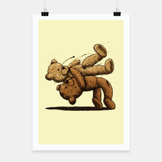 Bear Hug Poster miniature
