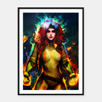 Miniatur rogue Framed poster, Live Heroes