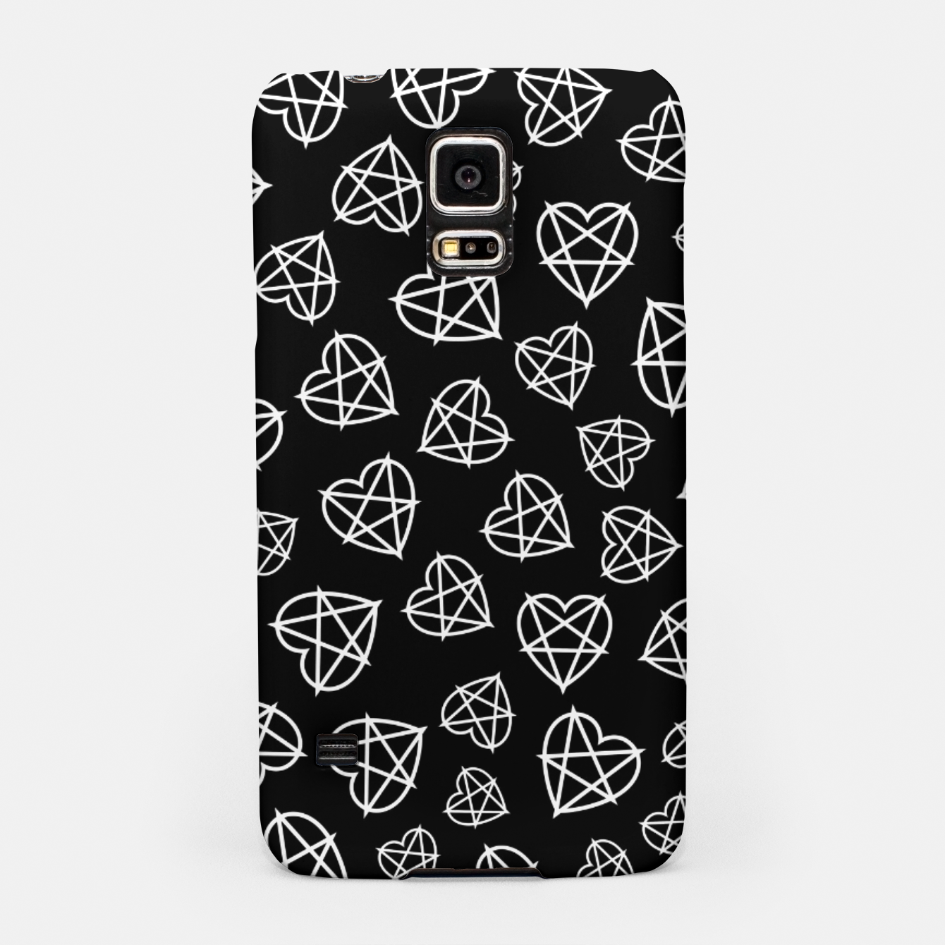 Image of Wicked Love Pentagram Heart Samsung Case - Live Heroes