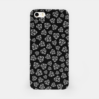 Wicked Love Pentagram Heart iPhone Case thumbnail image